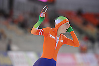 SPEEDSKATING: SOCHI: Adler Arena, 21-03-2013, Essent ISU World Championship Single Distances, Day 1, 3000m Ladies, Ireen Wüst (NED), © Martin de Jong