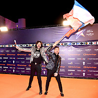 Philip Kirkorov, Sergey Lazarev (Russia)<br /> Eurovision Song Contest, Opening Ceremony, Tel Aviv, Israel - 12 May 2019.<br /> **Not for sales in Russia or FSU**<br /> CAP/PER/EN<br /> &copy;EN/PER/CapitalPictures