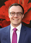 "Chasten Glezman attends the Broadway Opening Night Performance of ""Hadestown"" at the Walter Kerr Theatre on April 17, 2019  in New York City."
