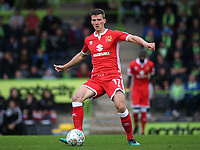 Paul Downing of MK Dons in action during Forest Green Rovers vs MK Dons, Caraboa Cup Football at The New Lawn on 8th August 2017