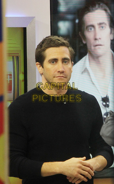 NEW YORK, NY - OCTOBER 24: Jake Gyllenhaal at Good Morning America promoting his new movie Nightcrawler on October 24, 2914 in New York City.  <br /> CAP/MPI/RW<br /> &copy;RW/ MediaPunch/Capital Pictures