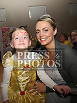 Tracey and Ava Fanning at the Princess Ball in the Barbican.<br /> <br /> Photo - Jenny Matthews