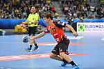 Rhein Neckar Loewe Jerry Tollbring (Nr.17) am Ball beim Spiel in der Champions League, Rhein Neckar Loewen - IFK Kristianstad.<br /> <br /> Foto &copy; PIX-Sportfotos *** Foto ist honorarpflichtig! *** Auf Anfrage in hoeherer Qualitaet/Aufloesung. Belegexemplar erbeten. Veroeffentlichung ausschliesslich fuer journalistisch-publizistische Zwecke. For editorial use only.