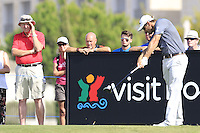 Florian Fritsch (GER) tees off during Thursday's Round 1 of the 2016 Portugal Masters held at the Oceanico Victoria Golf Course, Vilamoura, Algarve, Portugal. 19th October 2016.<br /> Picture: Eoin Clarke | Golffile<br /> <br /> <br /> All photos usage must carry mandatory copyright credit (&copy; Golffile | Eoin Clarke)