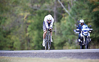 Tony Martin (DEU/Etixx-Quickstep) wasn't in his usual element and eventually ended up 7th in the standings<br /> <br /> Elite Men TT<br /> UCI Road World Championships / Richmond 2015