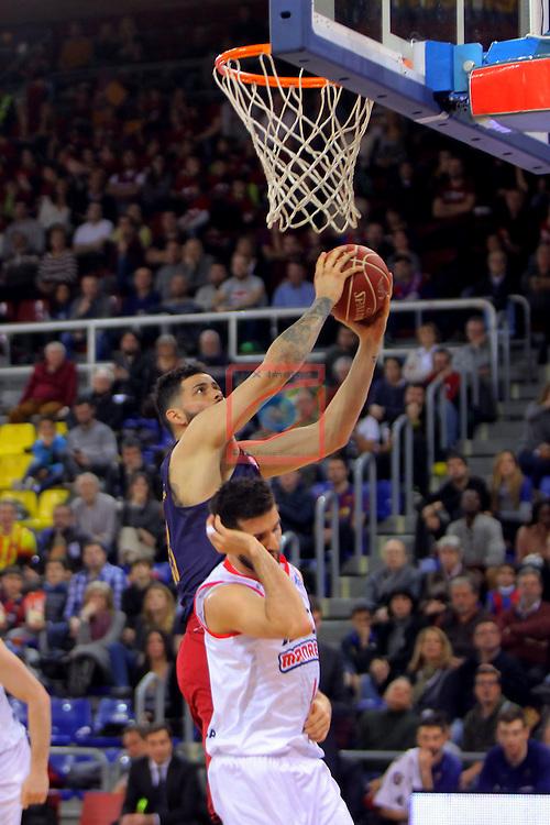 League ACB-ENDESA 2016/2017 - Game: 21.<br /> FC Barcelona Lassa vs ICL Manresa: 92-72.<br /> Vitor Faverani.