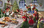 Marcello, CHRISTMAS SANTA, SNOWMAN, WEIHNACHTSMÄNNER, SCHNEEMÄNNER, PAPÁ NOEL, MUÑECOS DE NIEVE, paintings+++++,ITMCXM2033,#X#