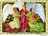 Ingrid, HOLY FAMILIES, HEILIGE FAMILIE, SAGRADA FAMÍLIA, paintings+++++,USISGAI12C,#XR# angels ,vintage
