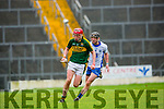Thomas Casey Kerry uses great skill to get past Patrick Curran Waterford in the Munster cup in Killarney on Saturday