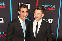 James Wolk and Sebastian Stan at the screening of USA Network's 'Political Animals' at the Morgan Library & Museum in New York City. June 25, 2012. © Ronald Smits/MediaPunch Inc. *NORTEPHOTO* **SOLO*VENTA*EN*MEXICO** **CREDITO*OBLIGATORIO** **No*Venta*A*Terceros** **No*Sale*So*third** *** No*Se*Permite Hacer Archivo** **No*Sale*So*third** *Para*más*información:*email*NortePhoto@gmail.com*web*NortePhoto.com*