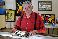 NWA Media/ J.T. Wampler -Martin Greer Friday Nov. 28, 2014 at his candy shop in Bentonville.