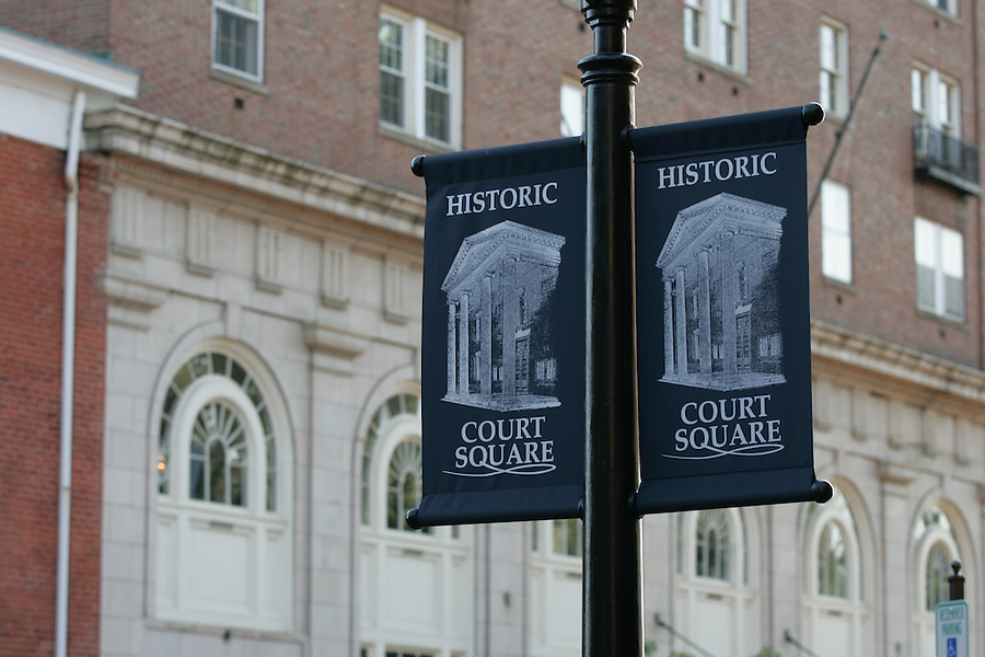 court square downtown banner