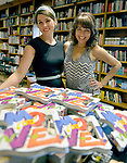 CORAL GABLES, FL - JUNE 11: Lolly Hopwood and Yvonne Kusters of Lolly & YoYo signs copies of thier book 'Move'' at Books and Books on Saturday June 11, 2016 in Coral Gables, Florida. ( Photo by Johnny Louis / jlnphotography.com )