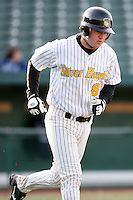 April 4, 2008:  South Bend Silver Hawks designated hitter Mike Mee (8) against the West Michigan Whitecaps at Coveleski Stadium in South Bend, IN.  Photo by: Chris Proctor/Four Seam Images