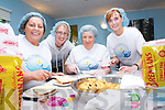 Staff and volunteers at Recovery Haven, Tralee, one of the charities benefting from this years Ring of Kerry cycle which takes place on Saturday practicing making sandwiches for participants of the event, from left Hannah Maunsell, Siobhan McSweeney, Marian Byrnes and Mags Lynch..