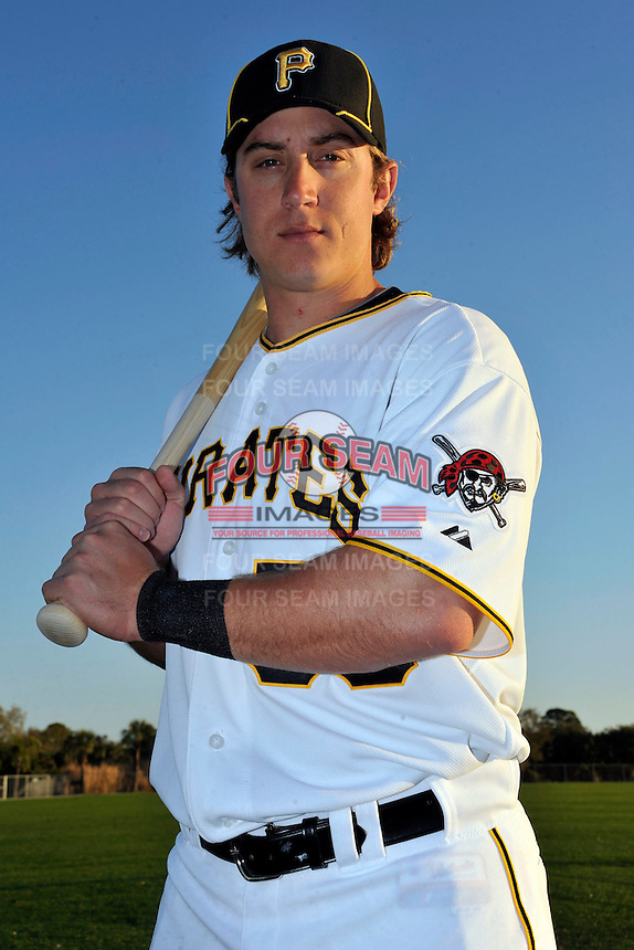 Feb 28, 2010; Bradenton, FL, USA; Pittsburgh Pirates  outfielder John Raynor (58) during  photoday at Pirate City. Mandatory Credit: Tomasso De Rosa/ Four Seam Images