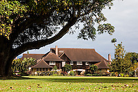 The historic Kilohana Plantation house on Kauai