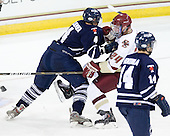 Sean Kliewer (Toronto - 4), Bill Arnold (BC - 24) - The Boston College Eagles defeated the visiting University of Toronto Varsity Blues 8-0 in an exhibition game on Sunday afternoon, October 3, 2010, at Conte Forum in Chestnut Hill, MA.