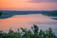 Gillham Lake is a small reservoir located along the Cossatot River, mostly in Howard County, but also extending westward into Polk County, Arkansas. The lake is 6 miles from Gillham, Arkansas.