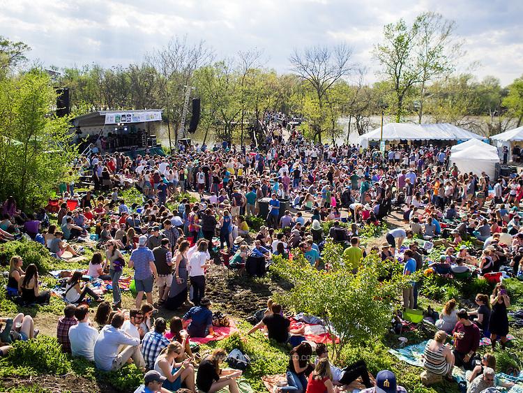 The fifth annual Kingman Island Bluegrass Festival in Washington, DC. 26 April 2014 PHOTO/John Nelson