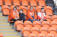 Blackpool fans enjoy the pre-match atmosphere <br /> <br /> Photographer Kevin Barnes/CameraSport<br /> <br /> The EFL Sky Bet League One - Blackpool v Peterborough United - Saturday 13th April 2019 - Bloomfield Road - Blackpool<br /> <br /> World Copyright &copy; 2019 CameraSport. All rights reserved. 43 Linden Ave. Countesthorpe. Leicester. England. LE8 5PG - Tel: +44 (0) 116 277 4147 - admin@camerasport.com - www.camerasport.com
