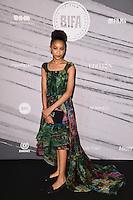 LONDON, UK. December 4, 2016: Sennia Nanua at the British Independent Film Awards 2016 at Old Billingsgate, London.<br /> Picture: Steve Vas/Featureflash/SilverHub 0208 004 5359/ 07711 972644 Editors@silverhubmedia.com