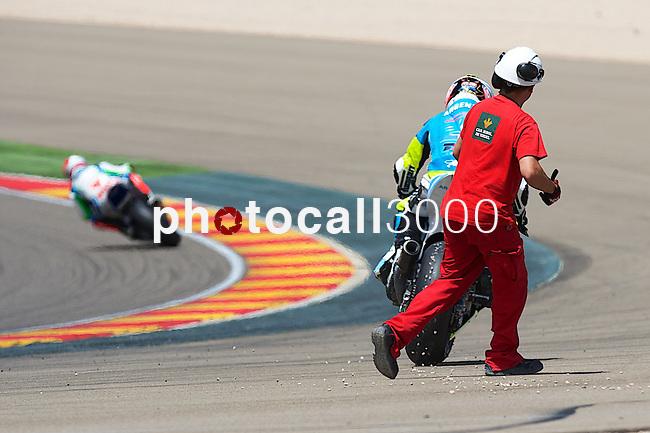 CEV Repsol en Motorland / Aragón <br /> a 07/06/2014 <br /> En la foto :<br /> Moto2<br /> porto<br />RM/PHOTOCALL3000