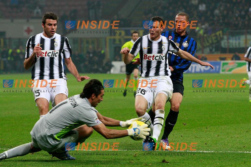 Gianluigi Buffon Juventus.Milano 29/10/2011 Stadio S.Siro.Football / Calcio Serie A 2011/2012.Inter vs Juventus.Foto Paolo Nucci Insidefoto