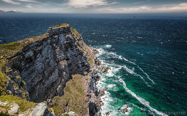 Popularly believed to be the southern most point in Africa, it's almost 90 miles from that location.  Cape Point does mark the area where the Indian and Atlantic Oceans meet.