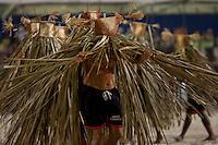 IV Jogos Tradicionais Indígenas do Pará<br /> <br /> Índios da Etnia Gavião Kiykatejê participa da demostrarão durante a dança dos peixes.<br /> <br /> Quinza etnias participam dos  IX Jogos Indígenas, iniciados neste na íntima sexta feira. Aikewara (de São Domingos do Capim), Araweté (de Altamira), Assurini do Tocantins (de Tucuruí), Assurini do Xingu (de Altamira), Gavião Kiykatejê (de Bom Jesus do Tocantins), Gavião Parkatejê (de Bom Jesus do Tocantins), Guarani (de Jacundá), Kayapó (de Tucumã), Munduruku (de Jacareacanga), Parakanã (de Altamira), Tembé (de Paragominas), Xikrin (de Ourilândia do Norte), Wai Wai (de Oriximiná). Participam ainda as etnias convidadas - Pataxó (da Bahia) e Xerente (do Tocantins). <br /> <br /> <br /> Mais de 3 mil pessoas lotaram as arquibancadas da arena de competição.<br /> Praia de Marudá, Marapanim, Pará, Brasil.<br /> Foto Paulo Santos<br /> 06/09/2014