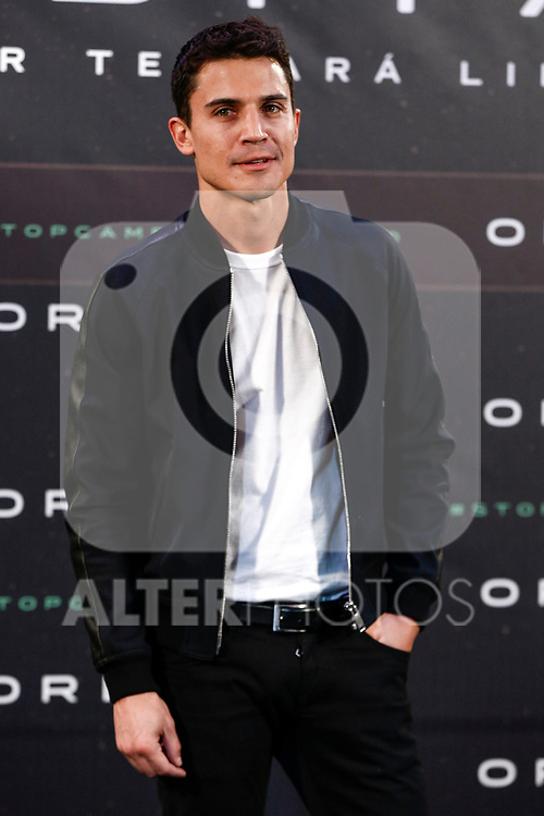 "Alex Gonzalez attends the junket of the film ""Orbita 9"" in Madrid, Spain. April 05, 2017. (ALTERPHOTOS / Rodrigo Jimenez)"