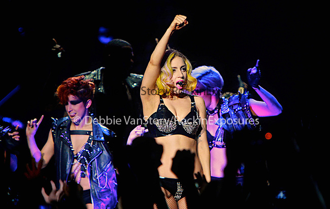 Lady Gaga performs live during Monster Ball 2010 North American Tour at the Pepsi Center in Denver, Colorado on July 28,2010                                                                   Copyright 2010  Rod Tanaka / RockinExposures