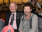 Tom and Doreen Dolan at the McBride Pitch and Putt club 30th anniversary celebrations in the Westcourt hotel. Photo:Colin Bell/pressphotos.ie