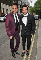 Dr Ranj Singh and guest at the British LGBT Awards 2018, London Marriott Hotel Grosvenor Square, Grosvenor Square, London, England, UK, on Friday 11 May 2018.<br /> CAP/CAN<br /> &copy;CAN/Capital Pictures