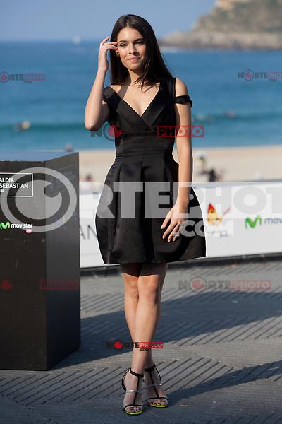 Spanish actress Claudia Trisac presents the film: 'Paradise Lost' during the 62st San Sebastian Film Festival in San Sebastian, Spain. September 26, 2014. (ALTERPHOTOS/Caro Marin) /NortePhoto.com