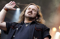 Singer Johnny van Zant of Lynyrd Skynyrd during a concert at Citadel Music Festival held at Citadel Spandau in Berlin, Germany, 07.06.2012...Credit: Cliff/face to face /MediaPunch Inc. ***FOR USA ONLY*** /NORTEPHOTO.COM