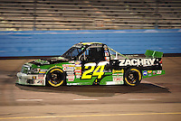 Nov. 13, 2009; Avondale, AZ, USA; NASCAR Camping World Truck Series driver David Starr during the Lucas Oil 150 at Phoenix International Raceway. Mandatory Credit: Mark J. Rebilas-