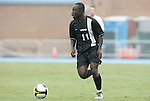 31 August 2008: VCU's Owusu Sekyere (GHA). The University of North Carolina Tar Heels defeated the Virginia Commonwealth University Rams 1-0 in overtime at Fetzer Field in Chapel Hill, North Carolina in an NCAA Division I Men's college soccer game.