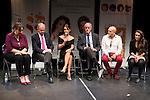 """""""Yo me bajo en la próxima, ¿y usted?"""" presentation in Fernán Gómez Theater, Madrid, Spain, September 14, 2015. <br /> (ALTERPHOTOS/BorjaB.Hojas)"""