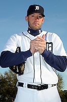 Feb 21, 2009; Lakeland, FL, USA; The Detroit Tigers pitcher Chris Lambert (40) during photoday at Tigertown. Mandatory Credit: Tomasso De Rosa/ Four Seam Images