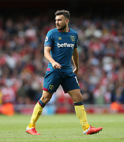 West Ham United's Robert Snodgrass<br /> <br /> Photographer Rob Newell/CameraSport<br /> <br /> The Premier League - Arsenal v West Ham United - Saturday August 25th 2018 - The Emirates - London<br /> <br /> World Copyright © 2018 CameraSport. All rights reserved. 43 Linden Ave. Countesthorpe. Leicester. England. LE8 5PG - Tel: +44 (0) 116 277 4147 - admin@camerasport.com - www.camerasport.com