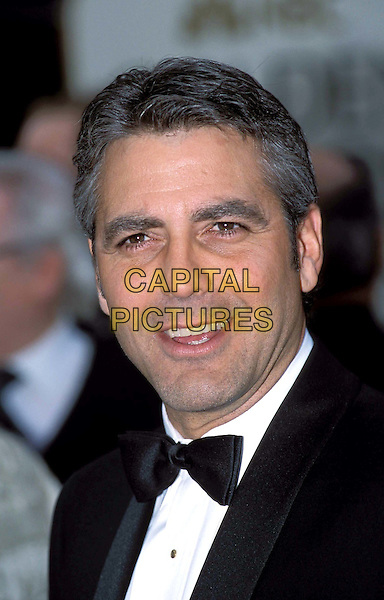 GEORGE CLOONEY..Golden Globe Awards, 2001..Ref: 10304..headshot, portrait, bow tie..www.capitalpictures.com..sales@capitalpictures.com..©Capital Pictures..