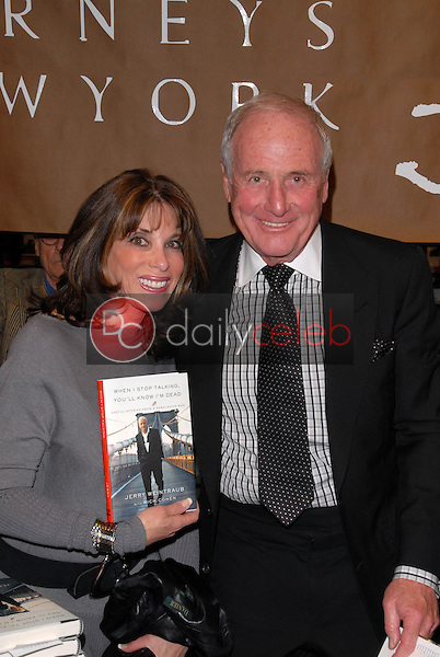 Kate Linder and Jerry Weintraub<br />
