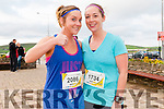 Sisters Mary and Helen Ahern (Farranfore) at the start of the Dingle Marathon on Saturday.