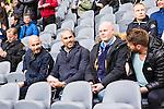 Stockholm 2015-05-25 Fotboll Allsvenskan Djurg&aring;rdens IF - AIK :  <br /> Fd AIK-spelaren och landslagsmannen Daniel Majstorovic p&aring; l&auml;ktaren inf&ouml;r matchen mellan Djurg&aring;rdens IF och AIK <br /> (Foto: Kenta J&ouml;nsson) Nyckelord:  Fotboll Allsvenskan Djurg&aring;rden DIF Tele2 Arena AIK Gnaget portr&auml;tt portrait glad gl&auml;dje lycka leende ler le