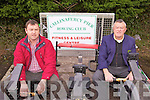 ROW YOUR BOAT: John and James Clifford of Callinafercy Pier Rowing Club taking part in the Milltown Parade on Wednesday morning..