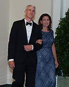 Kathy Warden and Eric Warden arrive for the State Dinner hosted by United States President Donald J. Trump and First lady Melania Trump in honor of Prime Minister Scott Morrison of Australia and his wife, Jenny Morrison, at the White House in Washington, DC on Friday, September 20, 2019.<br /> Credit: Ron Sachs / Pool via CNP