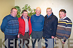 KERRY IFA: Attending the Kerry IFA annual general meeting at the Manor West, Tralee on Monday l-r: Sean Donoghue, Glenflesk, Tom Kelliher, Firies, Denis McCarthy, Kenmare, Ted McCarthy The Spa, Tralee and Thomas Laide, Ballymac.