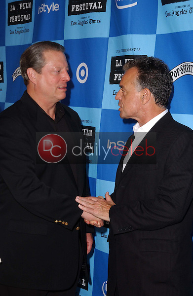 Al Gore and Ray Wise<br />