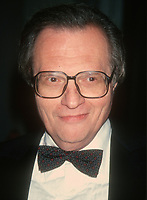 Larry King, 1993, Photo By John Barrett/PHOTOlink